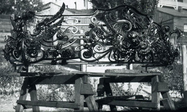 Kalvelage Mansion - Cyril Colnik - Wrought Iron Railing